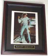 Kevin Bacon Signed - Autographed 8x10 Photo - Custom FRAME