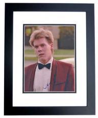 Kevin Bacon Signed - Autographed FOOTLOOSE 8x10 Photo BLACK CUSTOM FRAME