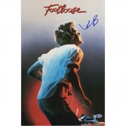 "Kevin Bacon Footloose Autographed 12"" x 18"" Movie Poster - BAS"
