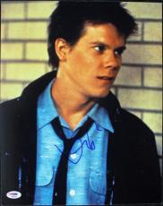 Kevin Bacon Footloose Signed 11X14 Photo Autographed PSA/DNA #S85990