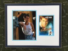 KEVIN BACON-FOOTLOOSE signed/autographed photo custom framed display-JSA COA