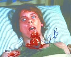 Kevin Bacon Friday The 13th Signed 8X10 Photo Autographed BAS #B61859