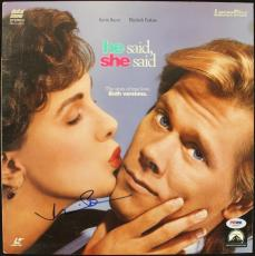 Kevin Bacon He Said She Said Signed Laserdisc Cover PSA/DNA #J00691
