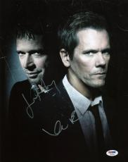 Kevin Bacon & James Purefoy - The Following Signed 11X14 Photo PSA/DNA #T46983