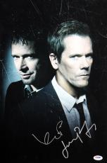 Kevin Bacon & James Purefoy The Following Signed 12x18 PSA/DNA AC43178
