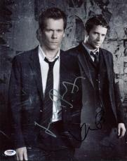Kevin Bacon & James Purefoy The Follwing Signed 11X14 Photo PSA/DNA #Y18804