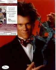 Kevin  Bacon  Posed   Signed  Autographed 8x10 Photo  Jsa  I07072
