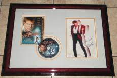 "Kevin Bacon Rare Signed & Framed 8 x 10 ""Footloose"" Photo, Psa/Dna!!!"