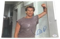 Kevin Bacon Signed 11x14 Photo Authentic Autograph Footloose Psa Coa