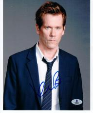 Kevin Bacon signed 8x10 photo Beckett BAS Authentic autograph