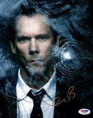 Kevin Bacon SIGNED 8x10 Photo Ryan Hardy The Following PSA/DNA AUTOGRAPHED