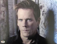 Kevin Bacon Signed Auto Autograph 12x18 The Following Photo PSA/DNA V73749