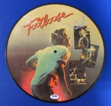Kevin Bacon Signed Auto Autograph Footloose Picture Disc PSA/DNA U78518