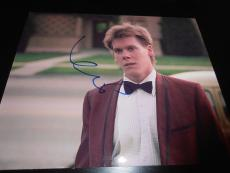 KEVIN BACON SIGNED AUTOGRAPH 8x10 PHOTO FOOTLOOSE PROMO IN PERSON COA AUTO NY D