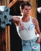 KEVIN BACON SIGNED AUTOGRAPHED 8x10 PHOTO FOOTLOOSE PSA/DNA