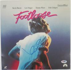 Kevin Bacon Signed Autographed Footloose Laser Disc Cover PSA/DNA #W69076