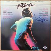 Kevin Bacon Signed Autographed Footloose Lp Record Album Very Rare Psa/dna