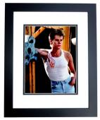 Kevin Bacon Signed - Autographed Footloose - Ren McCormack 8x10 inch Photo - Guaranteed to pass PSA/DNA or JSA - BLACK CUSTOM FRAME