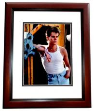 Kevin Bacon Signed - Autographed Footloose - Ren McCormack 8x10 inch Photo - Guaranteed to pass PSA/DNA or JSA - MAHOGANY CUSTOM FRAME