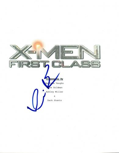 Kevin Bacon Signed Autographed X-MEN FIRST CLASS Movie Script COA VD