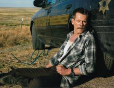 Kevin Bacon signed Cop Car movie 8x10 photograph w/coa Sheriff Autographed #2