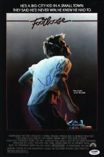 Kevin Bacon Signed Footloose 10x15 Movie Poster Psa Coa V73572