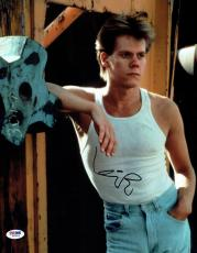 Kevin Bacon Signed Footloose Authentic Autographed 11x14 Photo PSA/DNA #Z62806