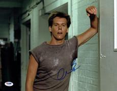 Kevin Bacon Signed Footloose Authentic Autographed 11x14 Photo PSA/DNA #Z62814