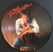 KEVIN BACON signed FOOTLOOSE laser disc- FSC COA