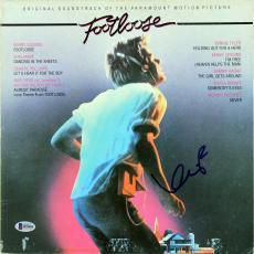 Kevin Bacon Signed Footloose Soundtrack Album Cover W/ Vinyl BAS #B95084