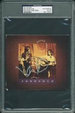 Kevin Bacon Signed Forosoco Cd Cover Autographed PSA/DNA Slabbed