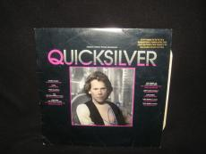 Kevin Bacon Signed QUICKSILVER Soundtrack Vynl LP Record
