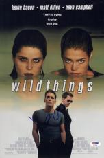 Kevin Bacon Signed Wildthings 10x15 Movie Poster Psa Coa V73568