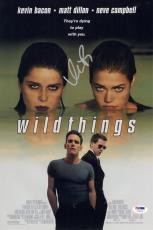 Kevin Bacon Signed Wildthings 10x15 Movie Poster Psa Coa V73570
