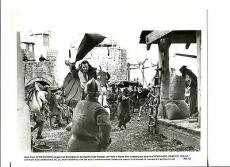 Kevin Costner Alan Rickman Robin Hood Prince Of Thieves Movie Press Still Photo