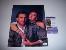Kevin Costner And Susan Sarandon Bull Durham Jsa/coa Signed 8x10 Photo