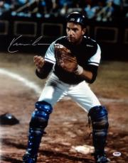 Kevin Costner Autographed 16x20 Photo Bull Durham Psa/dna Stock #98134