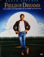 Kevin Costner Autographed 16x20 Photo Field Of Dreams Psa/dna Stock #98135