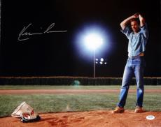 Kevin Costner Autographed 16x20 Photo Field Of Dreams Psa/dna Stock #98136
