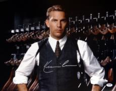 Kevin Costner Autographed 16x20 Photo The Untouchables Psa/dna Stock #98137
