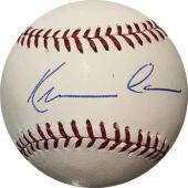Kevin Costner Autographed Baseball