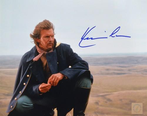 Kevin Costner Autographed Dances With Wolves 8x10 Photo