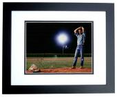Kevin Costner Signed - Autographed Field of Dreams 11x14 inch Photo BLACK CUSTOM FRAME - Guaranteed to pass PSA or JSA