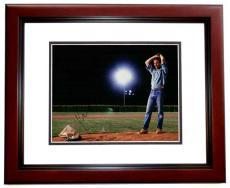 Kevin Costner Signed - Autographed Field of Dreams 11x14 Photo MAHOGANY CUSTOM FRAME