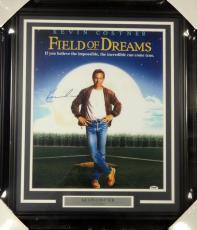 Kevin Costner Autographed Framed 16x20 Photo Bull Durham Psa/dna Stock #99714