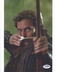 Kevin Costner Autographed Signed 8x10 Photo Authentic PSA/DNA COA