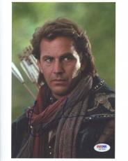 Kevin Costner Autographed Signed 8x10 Photo Certified PSA/DNA COA