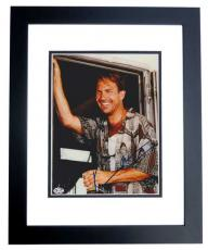 Kevin Costner Autographed TIN CUP 8x10 Photo BLACK CUSTOM FRAME