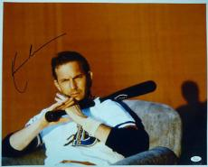 KEVIN COSTNER AUTOGRAPHED/SIGNED 16x20 PHOTO JSA K45282