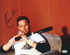 Kevin Costner Bull Durham Signed 11X14 Photo PSA/DNA #U70987